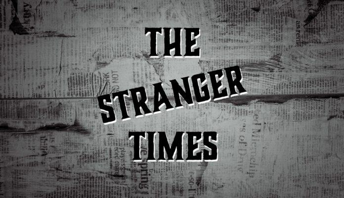 The Stranger Times podcast cover
